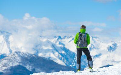 Cuidado de los pies y los deportes de invierno.