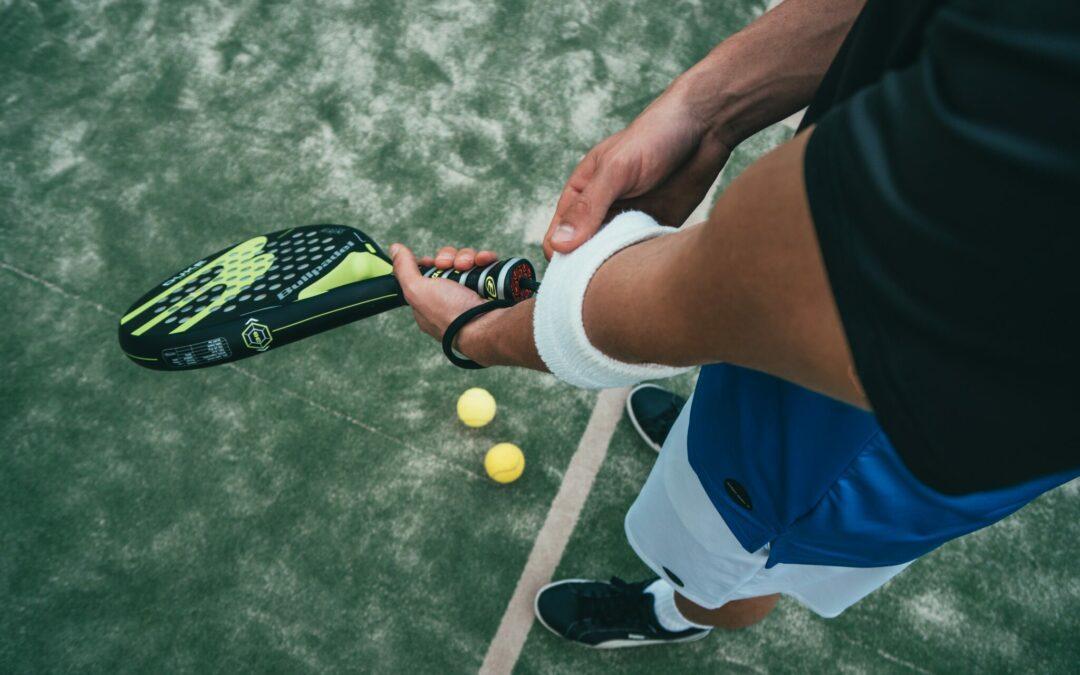Lesiones del pie practicando pádel.