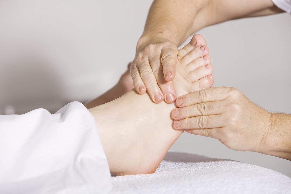 Cuidado de los pies en pacientes con Alzheimer